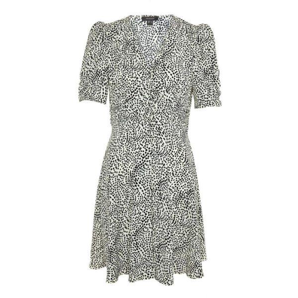 Rebajas primark para mujer 2021 vestido estampado fruncido