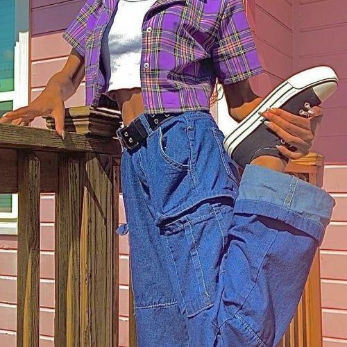 Pantalones de campana