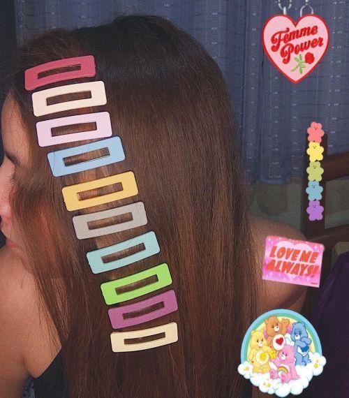 Horquillas de color pelo