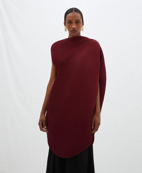 Vestidos adolfo dominguez otoño invierno vestido efecto globo