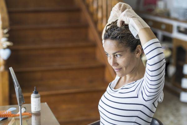 Como tenirte el pelo de forma natural
