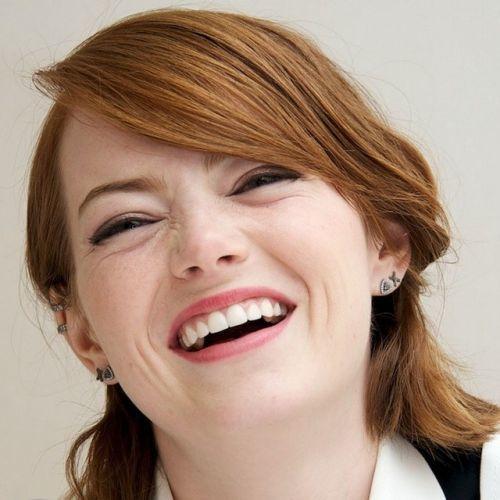 Emma Stone flequillo