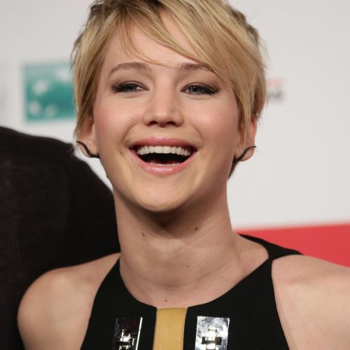 Jennifer Lawrence pelo corto