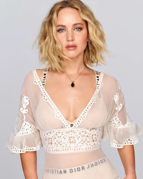 Jennifer Lawrence corte lob