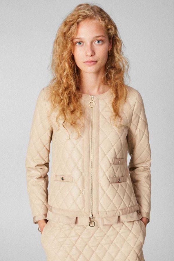 Rebajas purificacion garcia otoño invierno chaqueta acolchada