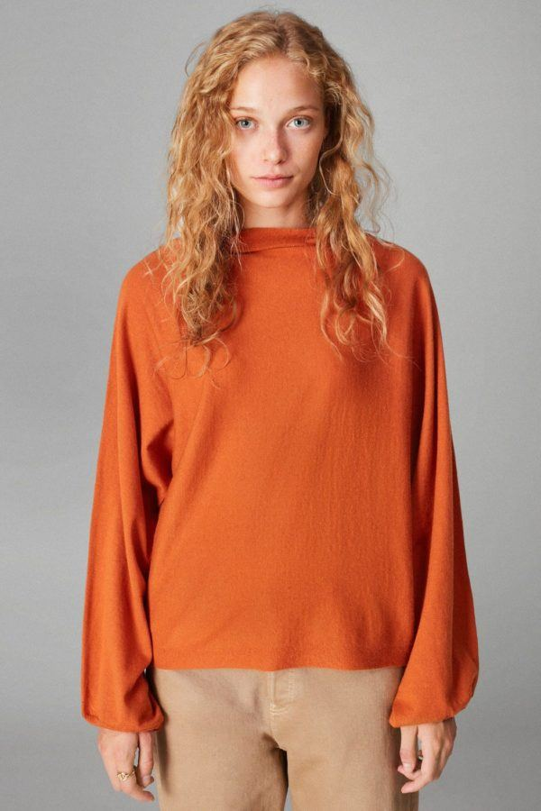 Rebajas purificacion garcia otoño invierno chaqueta jersey oversize