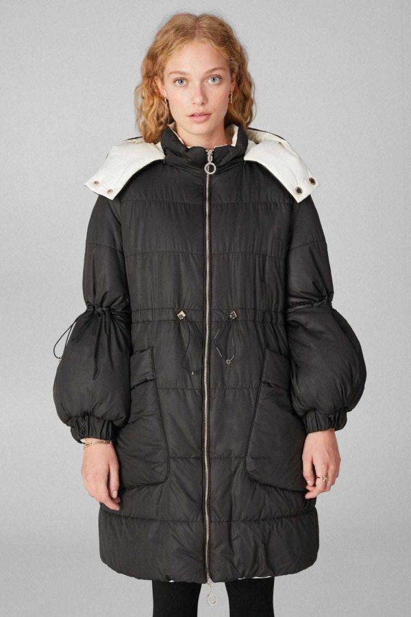 Rebajas purificacion garcia otoño invierno chaqueton reversible
