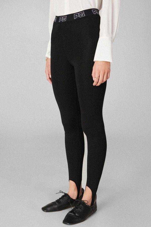 Rebajas purificacion garcia otoño invierno pantalon negro