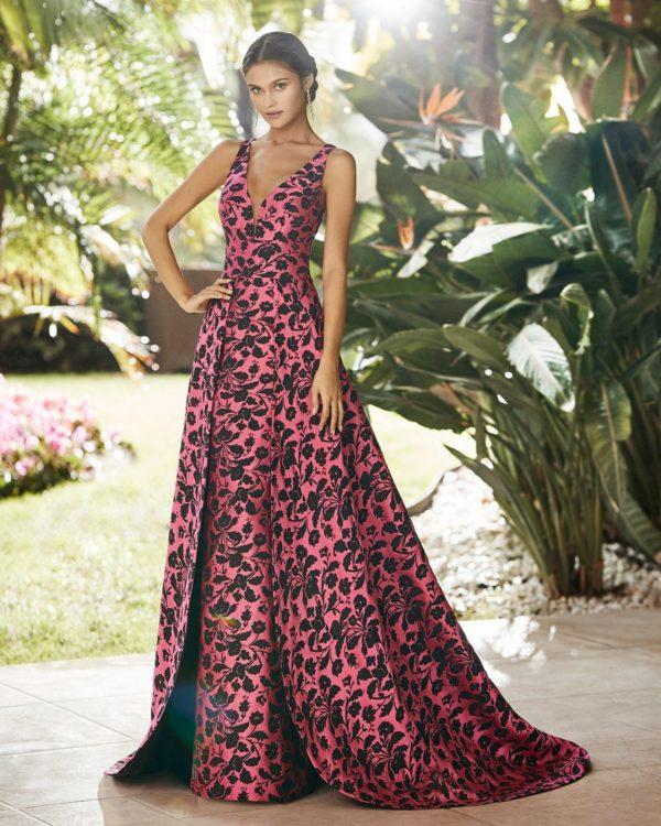 Vestidos de fiesta largos rosa clara 2021 vestido modelo 5t1b8