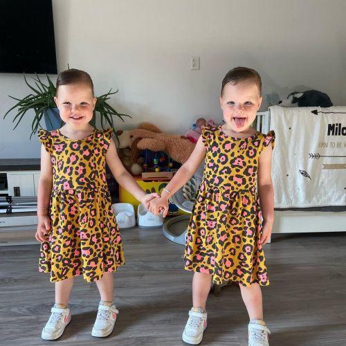 Gemelas twinning outfit animal print