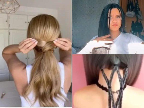 peinados de moda en tik tok 2021