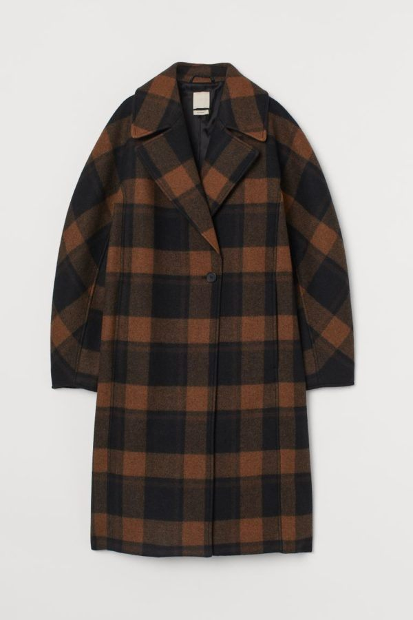 Ropa para gorditas otoño invierno H&M abrigo lana