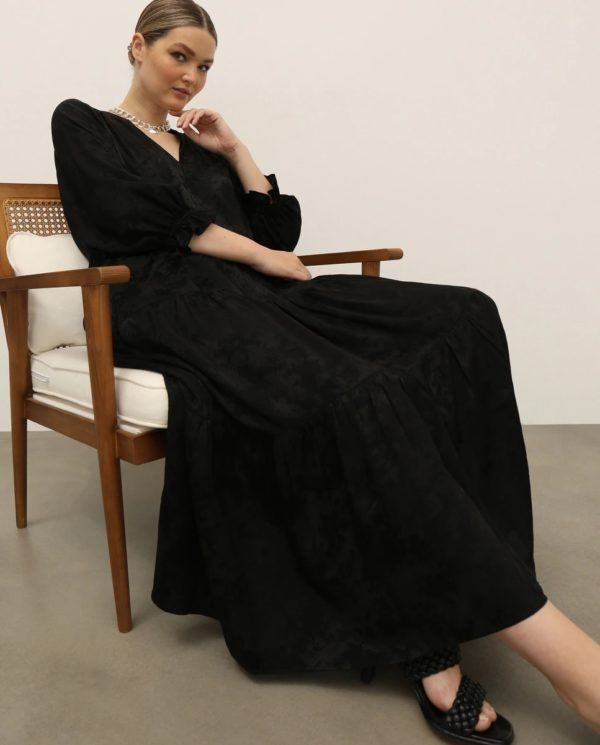 Ropa para gorditas otoño invierno VESTIDOS de fiesta el corte ingles vestido negro