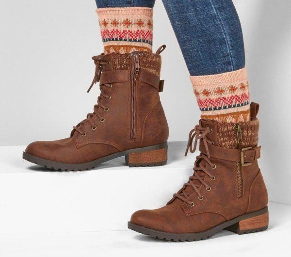 Catalogo de zapatillas de mujer skechers otoño invierno BOTAS dome