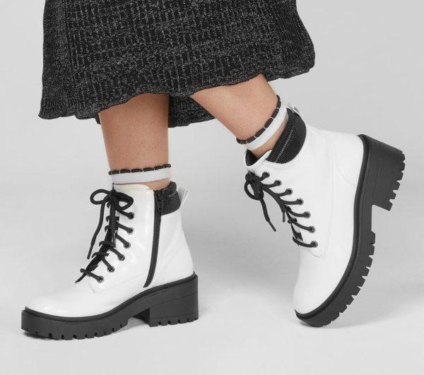 Catalogo de zapatillas de mujer skechers otoño invierno BOTAS teen spirit