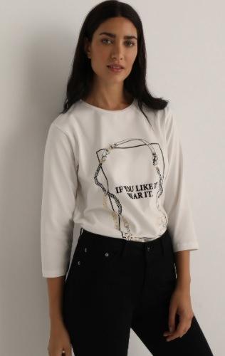 Camiseta de mujer con texto