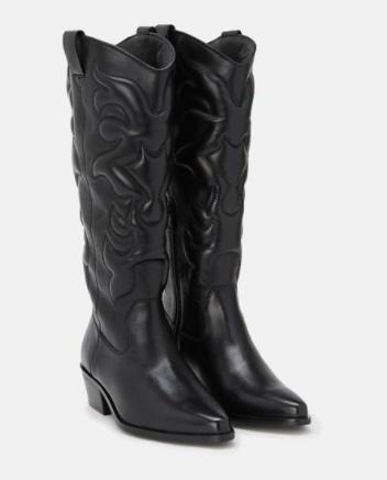 Botas altas cowboy de mujer Zendra Basic