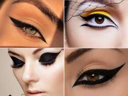 5 diseños de eyeliner o delineado de ojos para Otoño Invierno 2021-2022