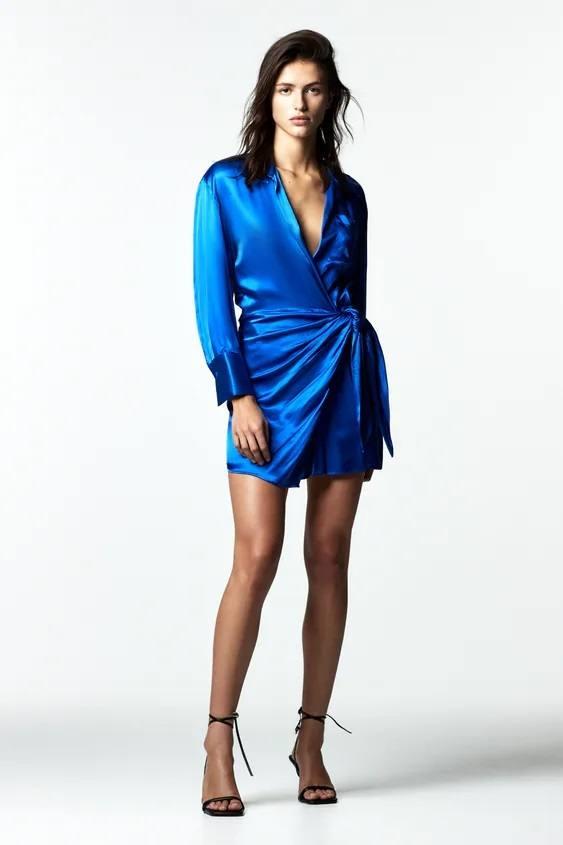 Colores de moda nochevieja azul