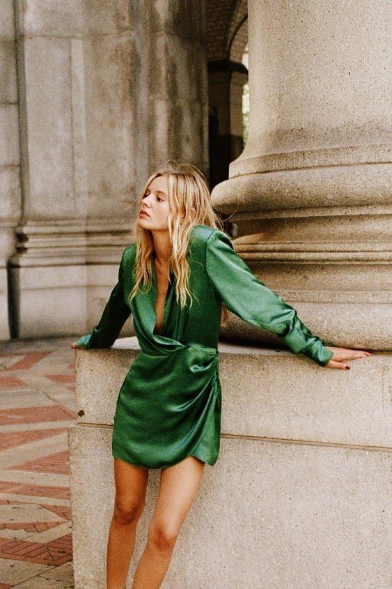 Colores de moda nochevieja verde