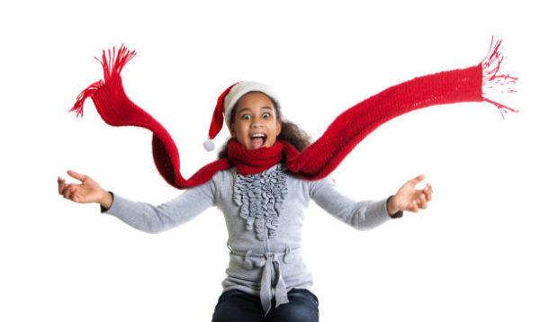 Como hacer bufanda para navidad 4