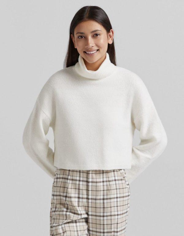 Moda adolescente otoño invierno 2021 jersey bershka