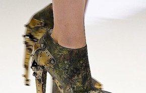 Zapatos de militar 2010