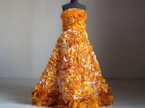 Vestidos reciclados: Algunos ejemplos con galerías de fotos y ...