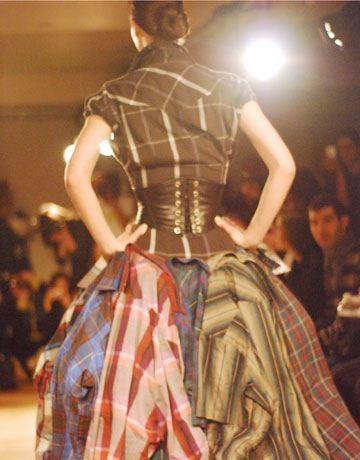 vestido de camisas vaqueras Vestidos reciclados: Algunos ejemplos con galerías de fotos y videos.