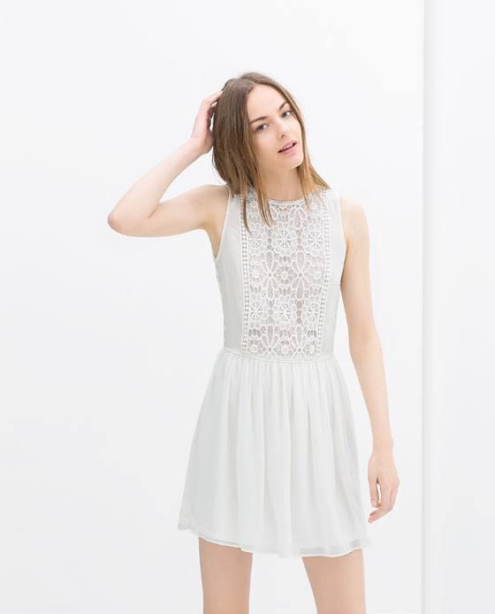vestidos-cortos-primavera-verano-2014-vestido-blanco-combinado-zara