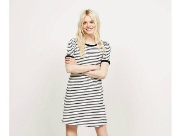 berskha-primavera-verano-2016-vestido-rayas-marineras-negras