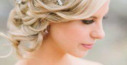 Cortes de pelo y peinados para novias 2017