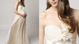 Vestidos de novia para embarazadas 2019
