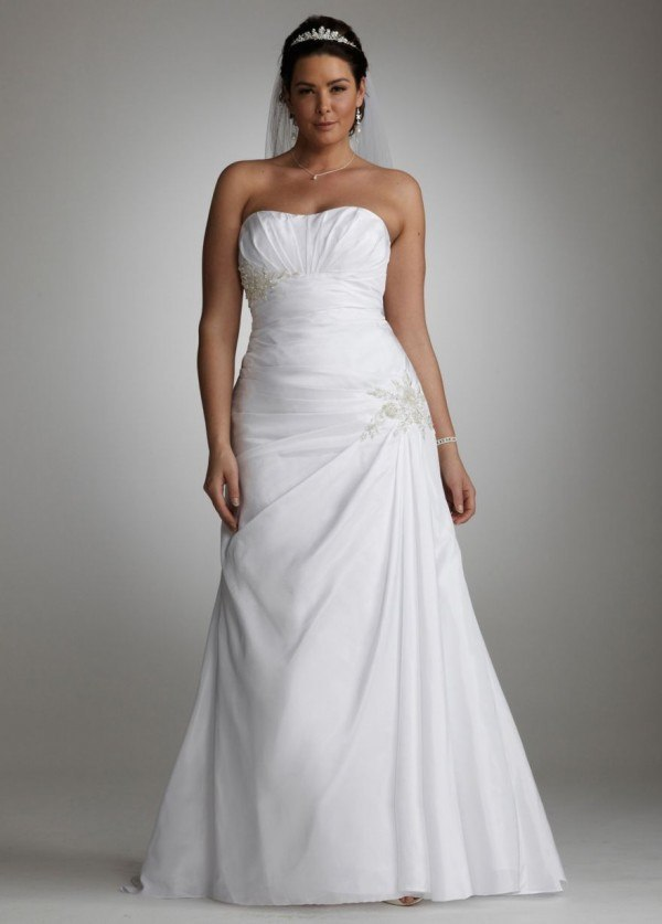 peinados para vestidos de novia palabra de honor – vestidos de noche