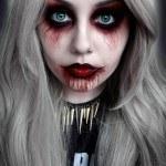halloween terror - maquillaje
