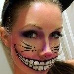 maquillaje conejo terror