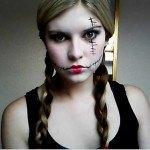 peinados-para-halloween-2014-peinado-muñeca-con-trenzas