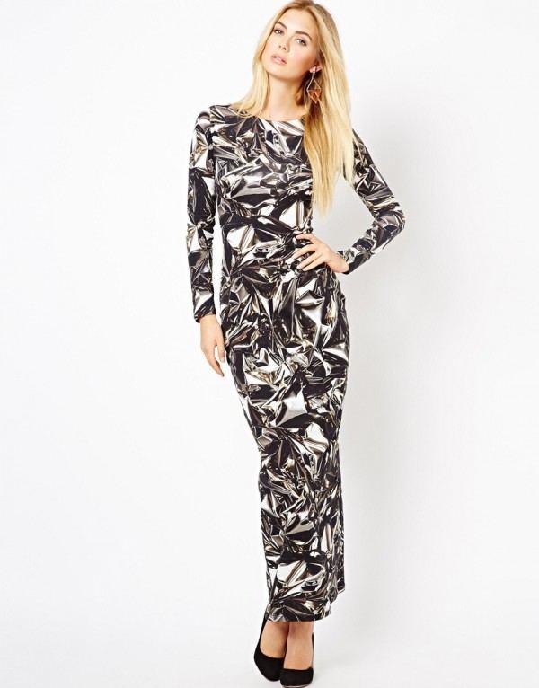 vestidos-para-navidad-2013-vestidos-largo-asos-estampado-digital