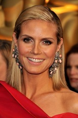 TV personality Heidi Klum arrives at the 81st Annual Academy Awa