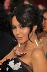 Actress Vanessa Hudgens arrives at the 81st Annual Academy Award
