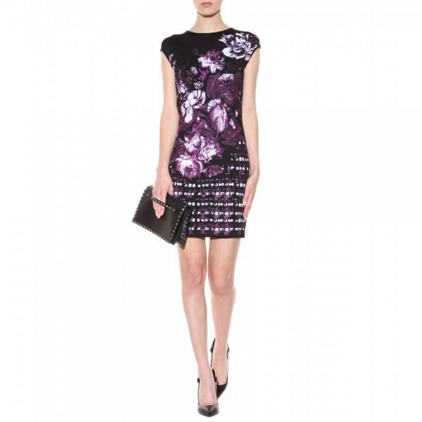 8-vestidos-de-coctel-para-navidad-y-nochevieja-2013-vestido-corto-estampado-roberto-cavalli