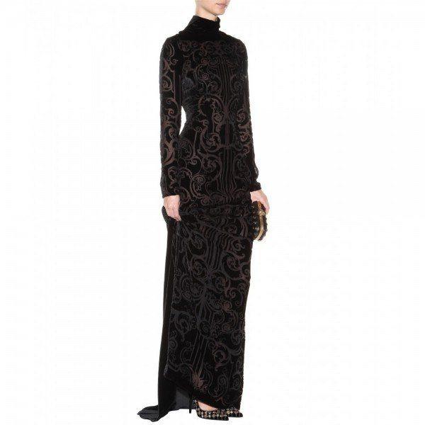 8-vestidos-de-coctel-para-navidad-y-nochevieja-2013-vestido-largo-negro-de-zuhair-murad