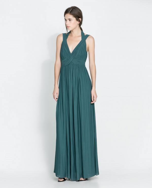 8-vestidos-de-coctel-para-navidad-y-nochevieja-2013-vestido-largo-verde-zara