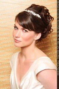 wedding hairstyles bridal hairstyle bridesmaid updos short hair pics