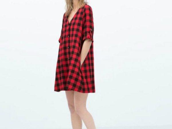 zara-premama-camisa-cuadros-negros-y-rojos
