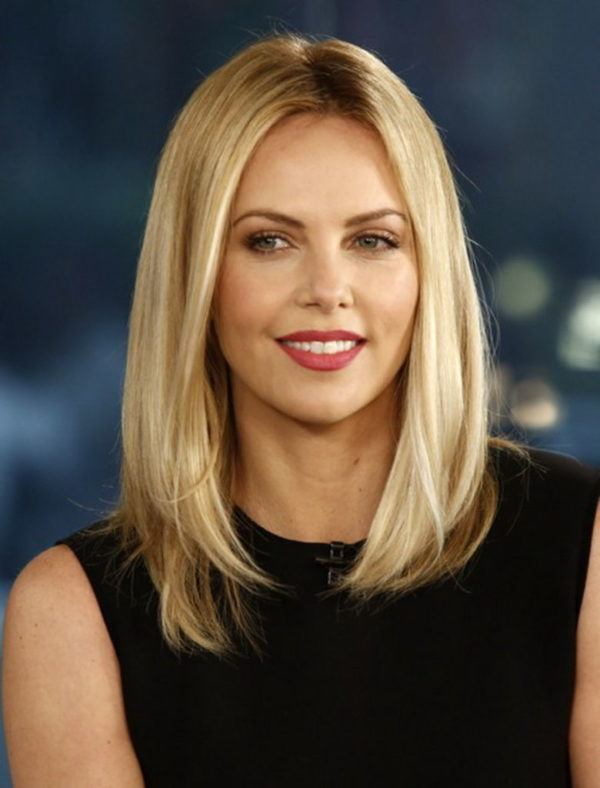 "TODAY -- Pictured: Charlize Theron appears on NBC News' ""Today"" show -- (Photo by: Peter Kramer/NBC/NBC NewsWire via Getty Images)"