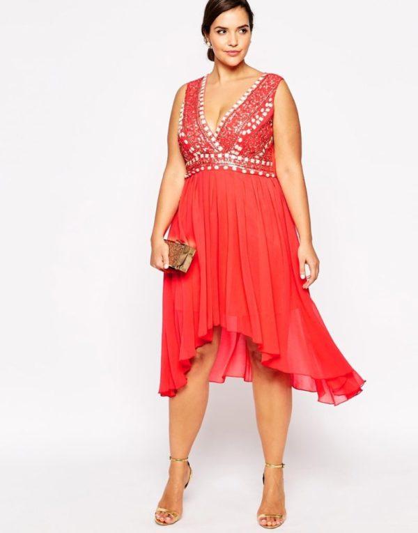vestidos-de-noche-para-gorditas-MODELO-rojo-de-Asos