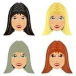 8873068-four-female-face-with-different-hair-color