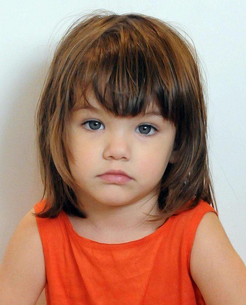 Cute Little Girl Haircuts with Bangs