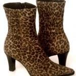 animal print botas